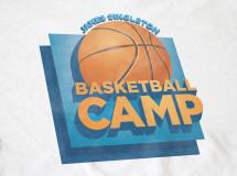 Camp t-shirt designed for the James Singleton All-Star Basketball Camp