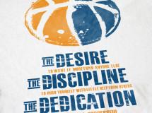 T-shirt design for the James Singleton All-Star Basketball Camp
