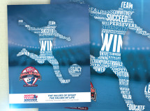 A print ad developed for North Texas Soccer for the Dr Pepper Cup event program