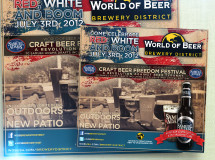 A print ad developed for World of Beer
