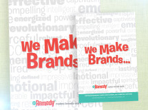 Print ad featuring The Remedy produced for an event program