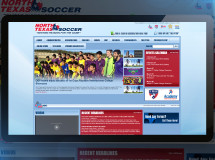 While we did not create this website, The Remedy oversees all of the day-to-day maintenance and updates of the North Texas Soccer website and social media platforms