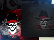 Samples of PC wallpaper backgrounds developed for the Dallas Vigilantes Arena Football team