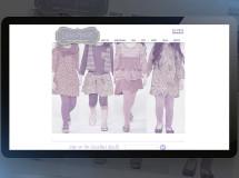 An online store developed for Luna Grace, online children's clothing boutique