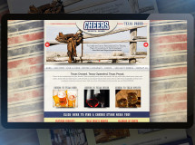 A website developed for Cheers Spirits+Wines, a Texas-based chain or liquor stores